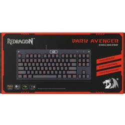 teclado redragon dark avenger