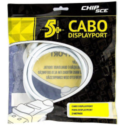 Cabo Displayport Macho 2m